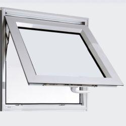 Doppelter Glasaluminiumzufuhrbehälter-Fenster-Markisen-Windows verwendeter Keller