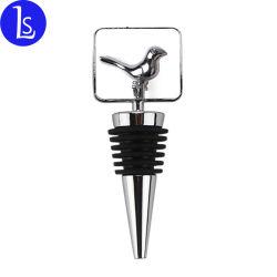 Logotipo personalizado regalos promocionales de metal de sublimación Tapón de botella de vino Vino Accesorios de moda