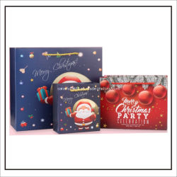 Guangzhou imprimés promotionnels personnalisée en usine Festival Art sac de papier cadeau de Noël avec votre logo