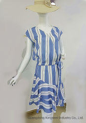 Kostuum van de Vezel van de Polyester van de Vrije tijd van de Vrouwen van de manier het Toevallige voor Rok en Bovenkanten