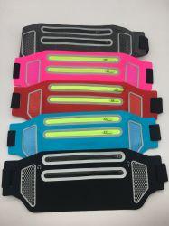 Executando bolsa à cintura Belt-Best Cinto de Cintura impermeável para manter o seu telefone celular Bolsa Dry-Fanny Cós caso; Reflexivo Correia Fitness desportivos ajustáveis