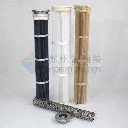 Forst colector de polvo industriales bolsa de filtro de cartucho plisado