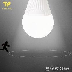レーダーセンサーが付いている新しくスマートな5With7With9With12With18W LEDのマイクロウェーブセンサーの電球夜電球