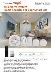 Systeem van het Alarm van de Veiligheid WiFi van Tuya het Slimme, de Automatisering van het Huis Tuya. Slimme Sos van het Leven Noodsituatie Alarm
