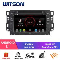 Processeurs quatre coeurs Witson Android 9.1 DVD de voiture GPS pour Chevrolet Epica/Captiva Inand construit en 16 Go de mémoire Flash