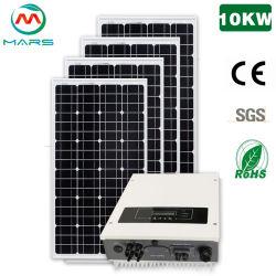10kw sur l'énergie solaire en électricité de la grille