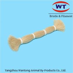 자연적인 두 배 당겨진 말 테일 또는 갈기 머리 황금 색깔