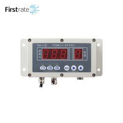 FST200-211 Registreerapparaat van de Gegevens van de Anemometer van de Kop van de Sensor van de Snelheid van de LEIDENE Wind van de Vertoning het Digitale