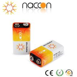 Alkalische trockene Zellen-hauptsächlichbatterie der Fabrik-heißer Verkaufs-beste Qualitäts6lr61 9V ultra