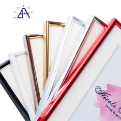 Utile de bonne qualité d'affiches colorées Cadre Photo en métal du châssis pour les décorations