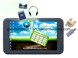 "Contacto 7"" de la ventana Embedded CE 6.0 Tablet PC con puerto RS232 para PC (659)"
