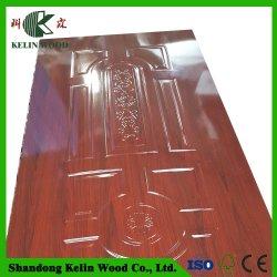 La mélamine et de la peau de porte en bois de placage Appuyez sur le moule