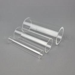 Jd toutes les tailles de haute température Tuyau résistant à la chaleur du tube de verre de quartz