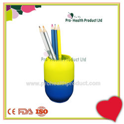 Stylo en plastique Penrack pilule de forme tubulaire de cas porte-stylet de bureau