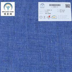 Nouveau produit 15*15 linge lavé tissu à armure sergé