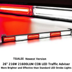 穂軸LEDの点滅のストローブのモードの高輝度法の執行のトラフィックの顧問の緊急の危険の警告の手段のストロボのライトバーキット