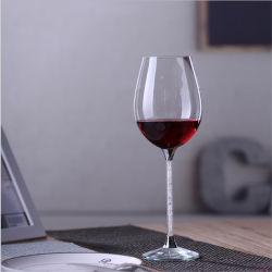 Élégant Handmade clair en verre borosilicaté résistant à la chaleur gobelet Verre à vin