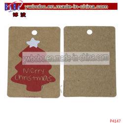 Árvore de Natal um ornamento Etiquetas etiquetas de papel etiqueta impressa (P4147)