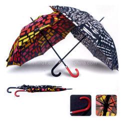 La promotion de la pluie de plein air personnalisé cadeau Sun Golf parapluie droites