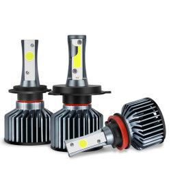 S&D Voiture phares H4 H7 LED H11 H8 H1 H3 9005 HB3 9006 HB4 H27 COB Lampes à LED, 880 881 72W 8000lm 6000K de lampes de feux automatique 12V 24V