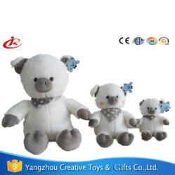 ブタによって詰められるおもちゃの中国の柔らかい赤ん坊のかわいいおもちゃのプラシ天のブタ