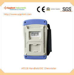 Producto caliente Micro de mano Ohmiómetro con Mini-interfaz USB (A518)