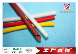 guaina/tubo in fibra di vetro intrecciata in silicone flessibile da 1,5 kv per filo elettrico