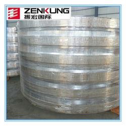 Material de Aço Inoxidável de forjamento a quente a/SA F304/L,um/SA F316/L, S32168, S22253 anel laminados, forja de flange de anel O