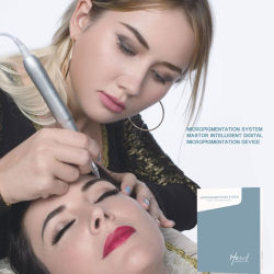 Maquillage Permanent numérique rotative la plus récente de la machine avec ce approuver