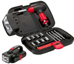 Insieme multifunzionale dell'utensile manuale di riparazione dell'automobile 24PCS del hardware LED