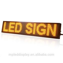 Wasserdichter im Freien Text P10 bewegliche BAD-LED-Bildschirmanzeige/rote /Amber-Farbe der Zeichen-/Bildschirm-Baugruppes