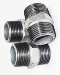 管付属品装置の可鍛性鋳鉄の排水の管付属品の電流を通された鉄のニップル