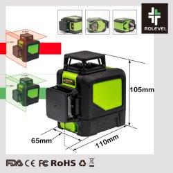 505-520nm Laser Cross-Line Portable autonivelant