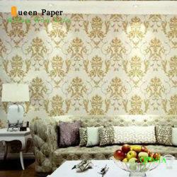 Meilleur prix chinois Home Decor magnifique Rouleaux de papier peint en PVC
