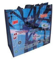 Borsa per la spesa in tessuto PP, borsa per la laminazione in PP, borsa per la laminazione non tessuto, borsa promozionale