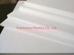 Libro blanco de placa personalizada de espuma Hoja Kt