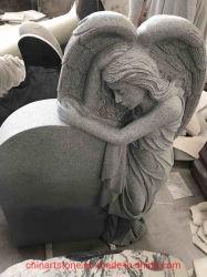 أسود صوّان ملاك بنت نصب تذكاريّ حجارة لأنّ قبر