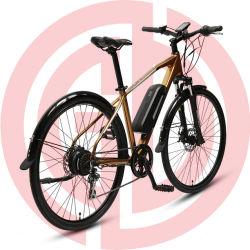 숙녀 또는 남자 합금 디스크 브레이크 700c 현탁액 E 자전거 전기 산 자전거