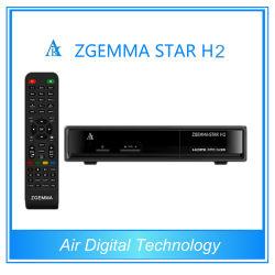 メディアプレイヤーHD Zgemmaの星H2の受信機DVB-S2 DVB-T2