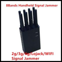 Isolante portatile del segnale dell'emittente di disturbo UHF/VHF WiFi del telefono mobile di GPS 8 delle antenne tenute in mano