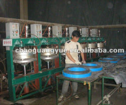 Intérieur en caoutchouc de pneu de voiture la vulcanisation des machines