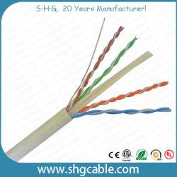 precio de fábrica caliente de Venta bajo costo de la CE aprobó Prueba RoHS Fluke Cable LAN de red UTP CAT6