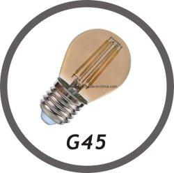 LED فتيلة خفيفة G45 بقوة 400 لومتر طراز E27 مصنعي الأجهزة الأصلية في الصين