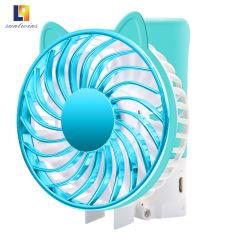 Mini-USB portable ventilateur électrique Home Appliance avec quatre couleurs