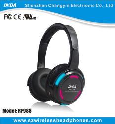 Écouteurs sans fil LED colorées pour partie en mode silencieux