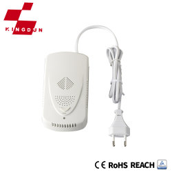 Veiligheidssysteem Gasensor huishoudelijk gas bekabeld alarm