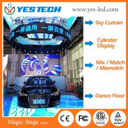 Stade Yestech Magic intérieur/extérieur grand affichage LED Flexible Conseil pour l'étape et de la location