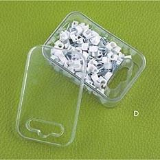 Grampos de cabo da série do HCl (caixa plástica com furo)