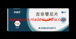 China Certificado BPF comprimidos Gefitinib 0,25G*10comprimidos Kraeftens Bekaempelse , para venda de droga