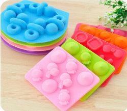 Grano de comida encantadora creativo diferentes formas de silicona Ice Maker